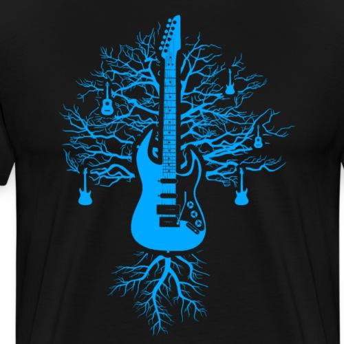 Gitarren Baum - Männer Premium T-Shirt