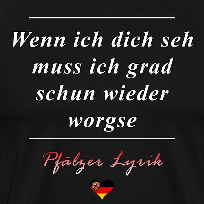 Pfälzer Gastgeschenk Spruch Lustig Männer Premium T Shirt