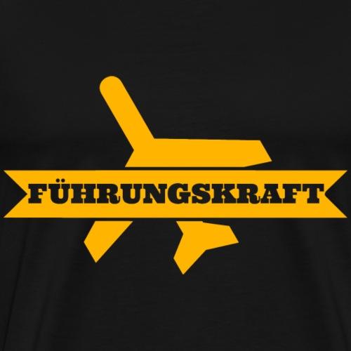 fuehrungskraft_flieger_g - Männer Premium T-Shirt
