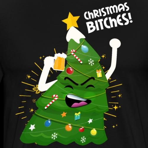 Craft Bier Weihnachten Party Betrunken Lustig - Männer Premium T-Shirt