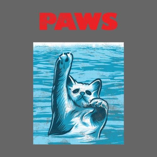 Katzen Paws Horror Film Parodie - Männer Premium T-Shirt