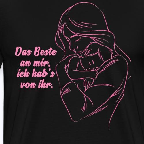 Muttertag - Muttertagsgeschenkidee Shirt - Männer Premium T-Shirt