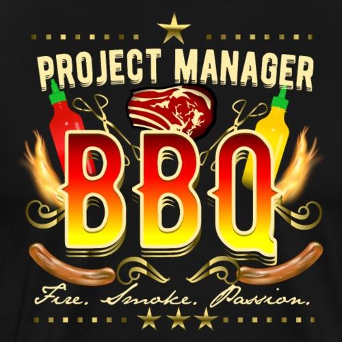 Grill Shirt Project Manager BBQ - Männer Premium T-Shirt