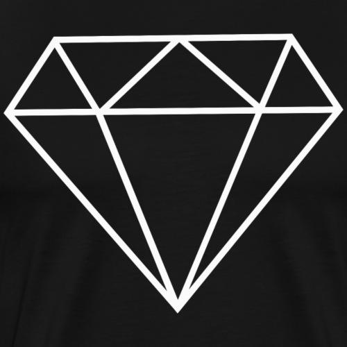 Diamant 4 - Männer Premium T-Shirt