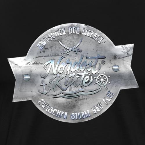 Nordost Küste Silber Edition - Männer Premium T-Shirt