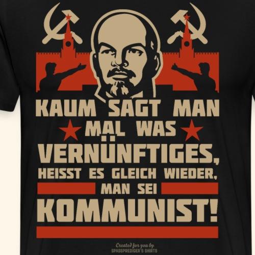 Sprüche T-Shirt Lenin Kommunist