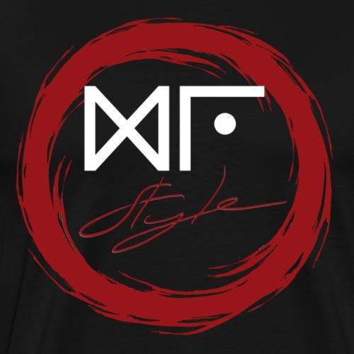 Logo Officiel Gu Style Blanc - T-shirt Premium Homme
