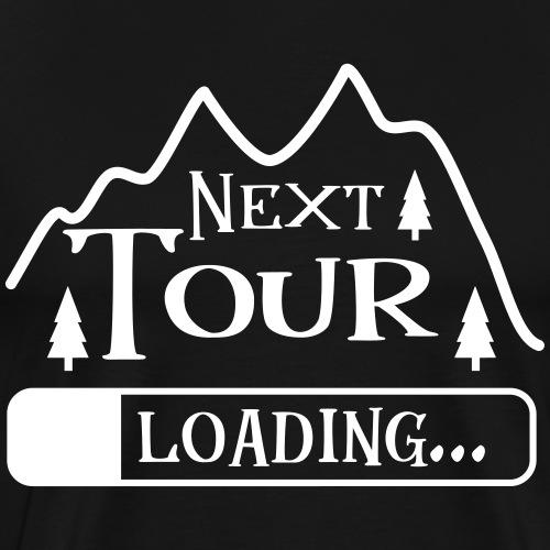 Wandern Klettern Bergsteigen Tour Laden Berg Natur - Männer Premium T-Shirt