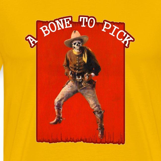 Vintage Skeleton Outlaw Cowboy