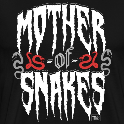 Mother of Snakes - Miesten premium t-paita
