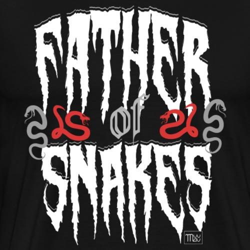 Father of Snakes - Miesten premium t-paita