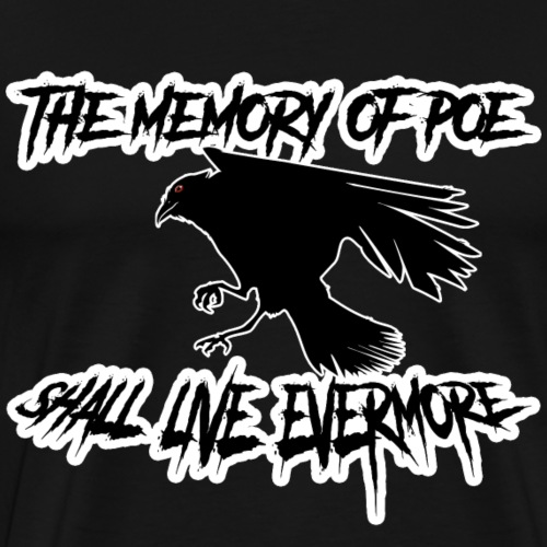The Memory of Poe - Männer Premium T-Shirt
