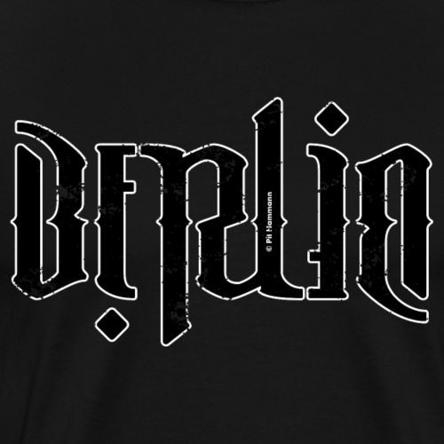 Ambigramm Berlin - Männer Premium T-Shirt