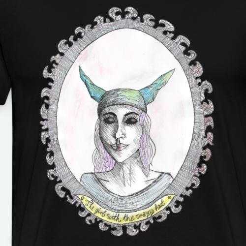 the girl-crazy hat- - Männer Premium T-Shirt
