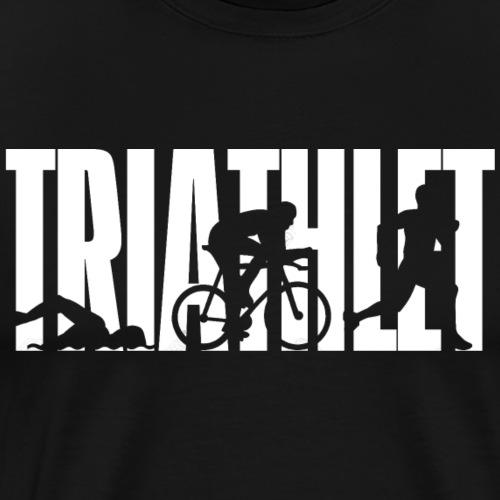 Triathlet - White - Männer Premium T-Shirt