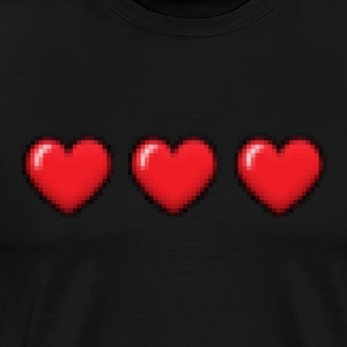 3Hearts - Herre premium T-shirt