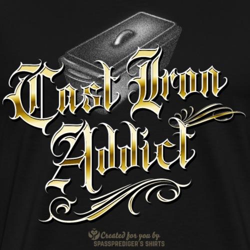 Cast Iron Addict - Männer Premium T-Shirt