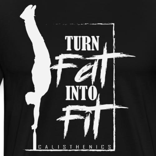 Calisthenics Training Shirt Geschenk - Männer Premium T-Shirt