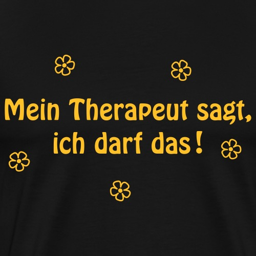 Therapie - Männer Premium T-Shirt