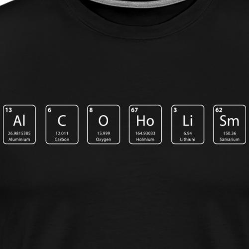 alcoolisme shirt geek - T-shirt Premium Homme