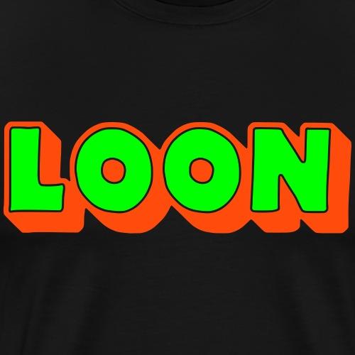 Loon, Doric Dialect, Scottish - Men's Premium T-Shirt