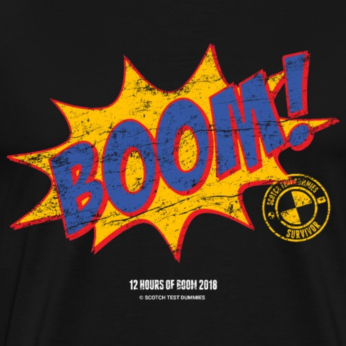 2018 12 Hours of Boom Survivor - Men's Premium T-Shirt