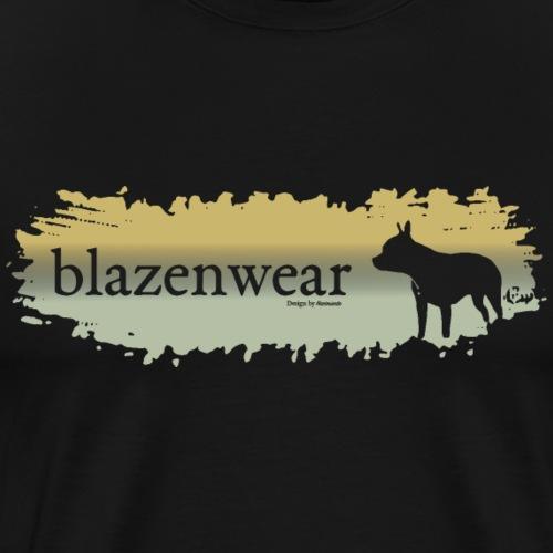 Dog Brush - Männer Premium T-Shirt