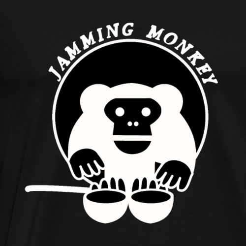 Jamming Monkey - T-shirt Premium Homme