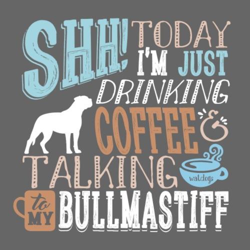 SHH Bullmastiff Coffee II - Miesten premium t-paita