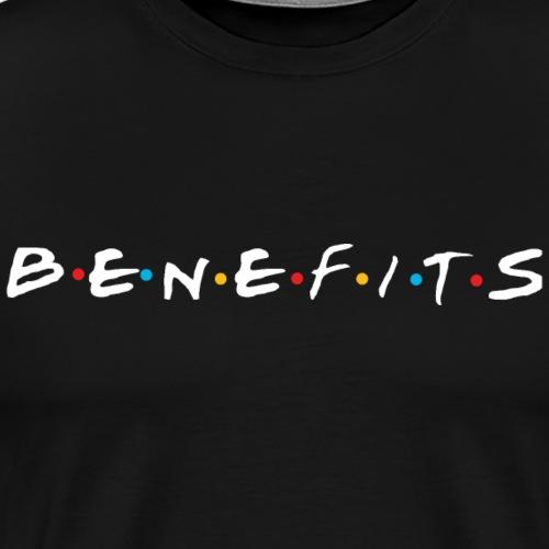 BENEFITS white edition - Men's Premium T-Shirt