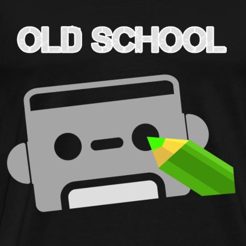 old school klassiker Kassette - Männer Premium T-Shirt