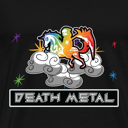 Lustiges Death Metal Einhorn T-Shirt