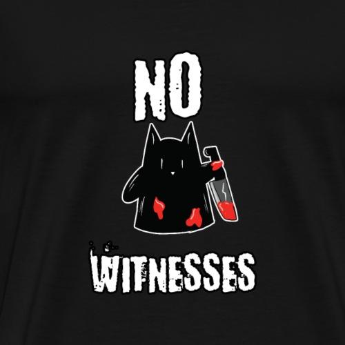 Halloween Katze Geist No Witnesses