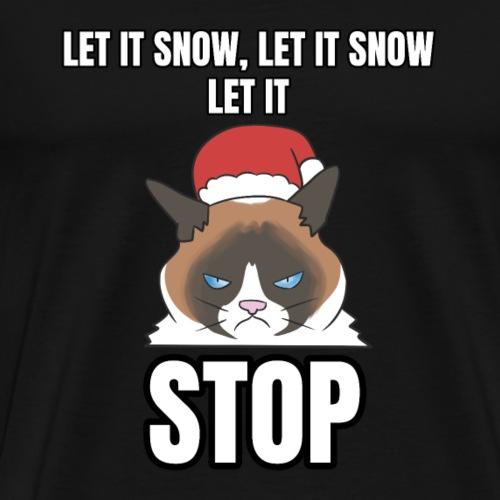 T-shirt Weihnachten Grumpy Cat