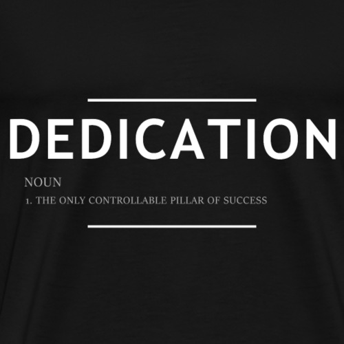 Dedication Nomen T-Shirt - Männer Premium T-Shirt