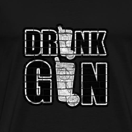 Deine Passion Drink GIN Tshirt für jeden GINfan - Männer Premium T-Shirt