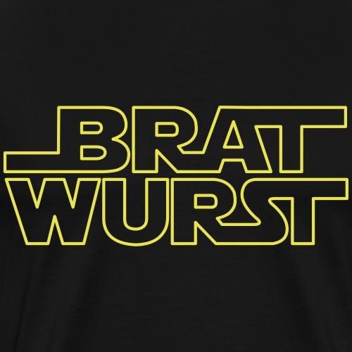 Bratwurst (Jedi) - Männer Premium T-Shirt