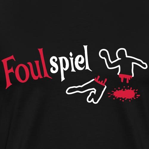 Handball Foulspiel hell - Männer Premium T-Shirt