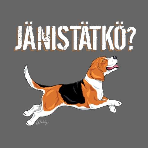 Jänistätkö Beagle - Miesten premium t-paita