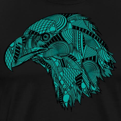 Turkis ørn - Premium T-skjorte for menn