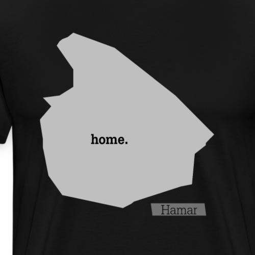 Hjemby Hamar - Premium T-skjorte for menn