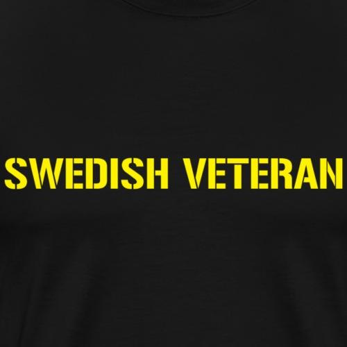 SWEDISH VETERAN - Premium-T-shirt herr