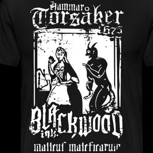 malleus maleficarum - Premium-T-shirt herr