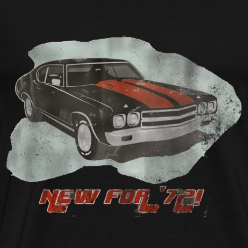 New For 72 Sports Car 2 - Männer Premium T-Shirt