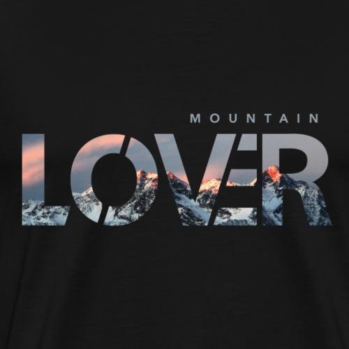 Mountain Lover - Maglietta Premium da uomo