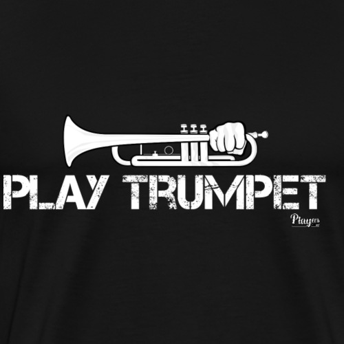 Play Trumpet - Men's Premium T-Shirt