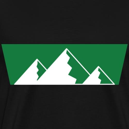 Berge Shirt Design - Männer Premium T-Shirt