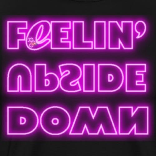 FeelinUpsideDown Neon - Maglietta Premium da uomo