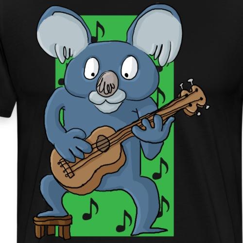 La koala ukuléliste - T-shirt Premium Homme