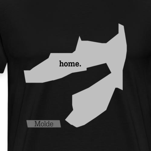 Hjemby Molde - Premium T-skjorte for menn